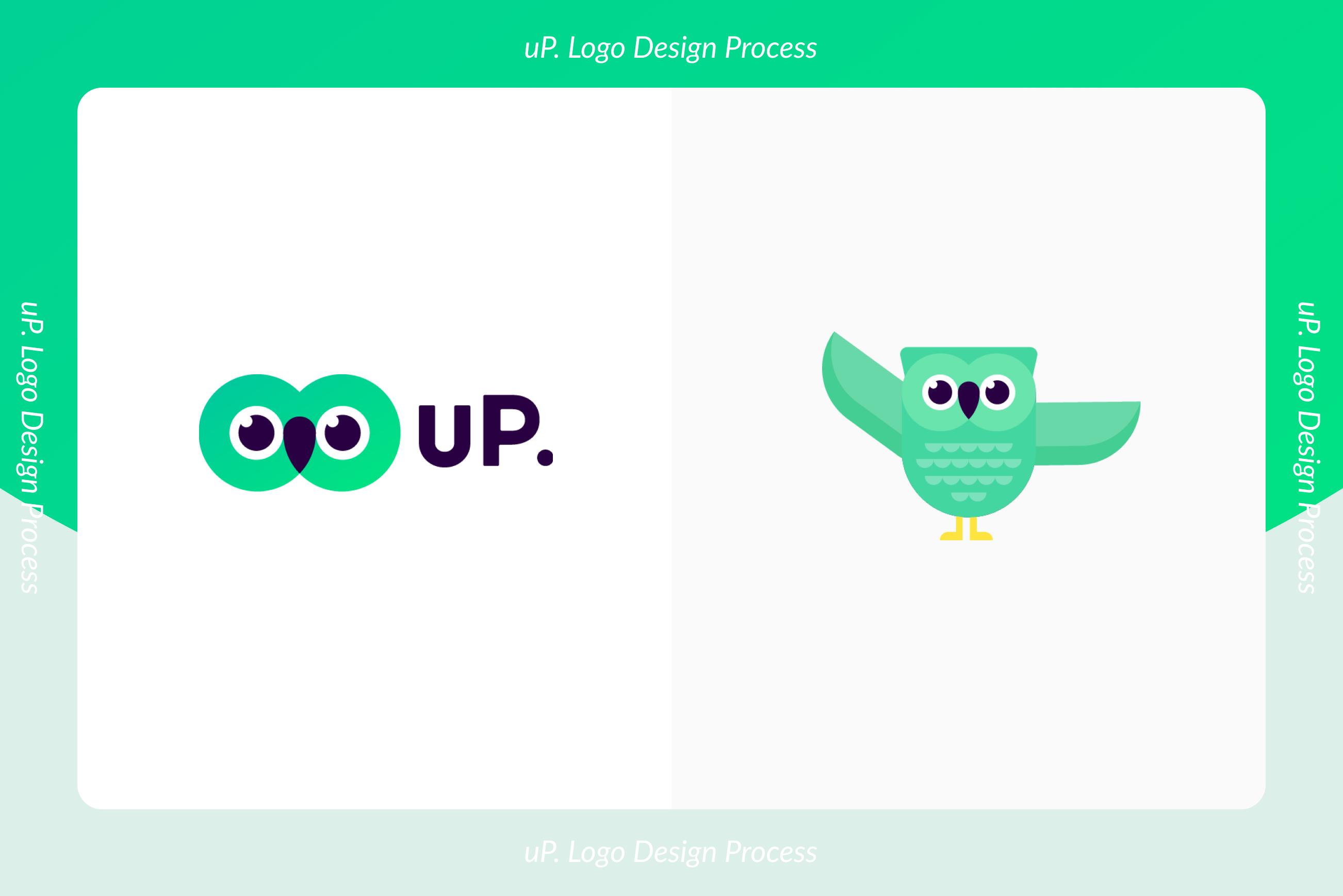 スピードと納得感を両立させる、uP.のロゴデザインプロセスのサムネイル画像
